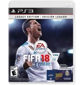 JOGO PS3 FIFA SOCCER 2018 LEGACY