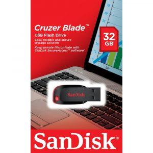 PENDRIVE SANDISK CRUZER BLADE Z50 32GB