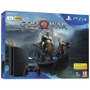 CAPA PARA CAIXA PS4 1TB GOD OF WAR 4