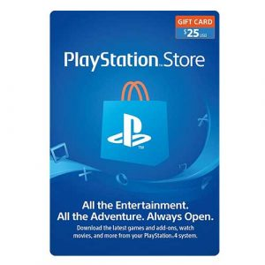 PLAYSTATION STORE 25$