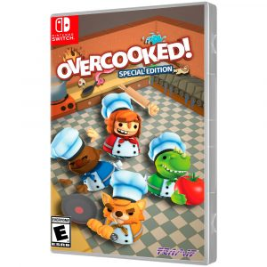 JOGO OVERCOOKED SPECIAL EDITION NINTENDO SWITCH