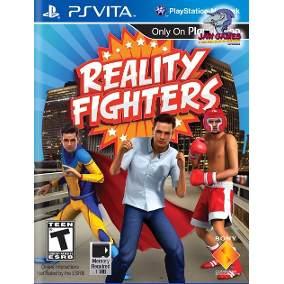 JOGO PSVITA REALITY FIGHTER