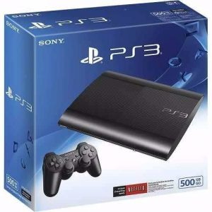 CAIXA VAZIA PS3 500GB
