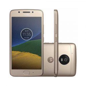 SMARTPHONE MOTO G5 XT1677 16GB DOURADO
