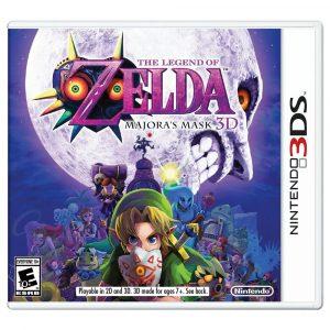JOGO NINTENDO 3DS THE LEGEND OF ZELDA MAJORA'S MASK 3D
