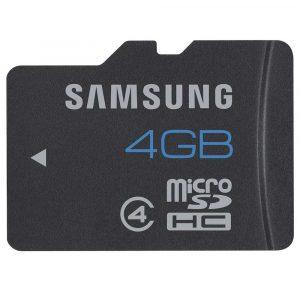 CARTÃO DE MEMÓRIA SAMSUNG MICRO SD 4GB