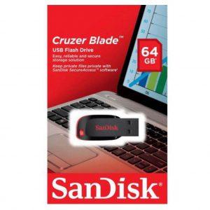 PENDRIVE SANDISK  CRUZER BLADE Z50 64GB