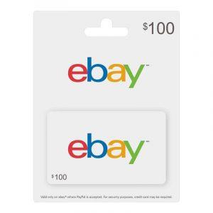 EBAY GIFT CARD 100$