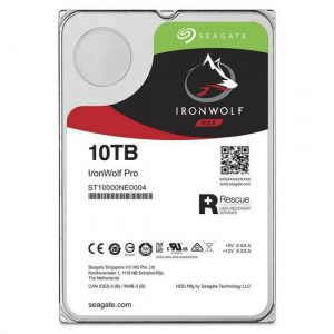 HD SEAGATE 10TB IRONWOLF NAS 7200RPM