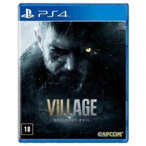 JOGO RESIDENT EVIL VILLAGE PS4