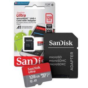 Cartão de Memória Sandisk Ultra SDXC 128GB Classe 10