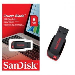 PENDRIVE SANDISK CRUZER BLADE Z50 8GB