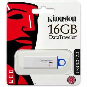 PENDRIVE KINGSTON DTIG4 16GB BRANCO/AZUL