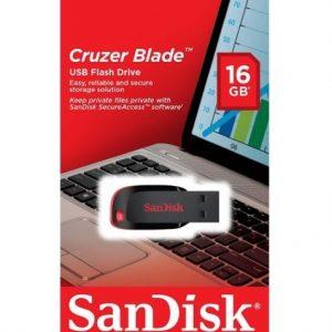 PENDRIVE SANDISK CRUZER BLADE Z50 16GB