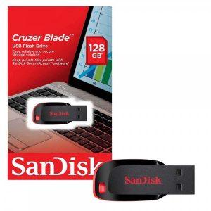 PENDRIVE SANDISK CRUZER BLADE Z50 128GB
