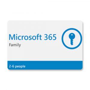 CÓDIGO DIGITAL MICROSOFT 365 FAMILY 2-6 PERSON