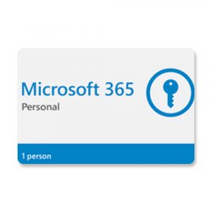 CÓDIGO DIGITAL MICROSOFT 365 PERSONAL 1 PERSON
