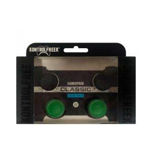 KONTROLFREEK PS4 CLASSIC PRETO/VERDE 4PC